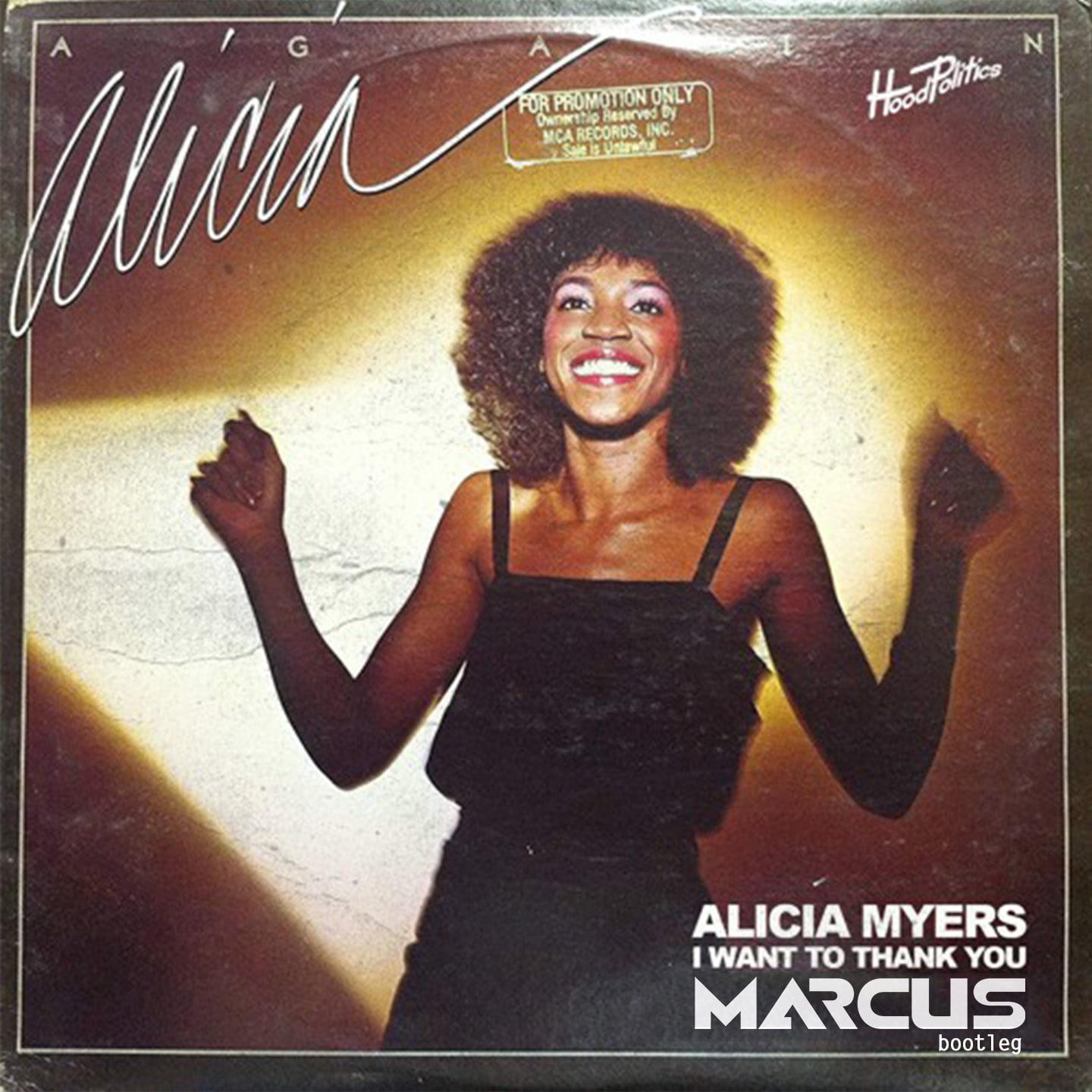 Alicia Myers – I Want To Thank You (Marcus bootleg)