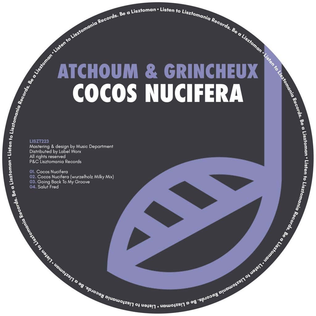 PREMIERE: Atchoum & Grincheux – Going Back To My Groove [Lisztomania Records]