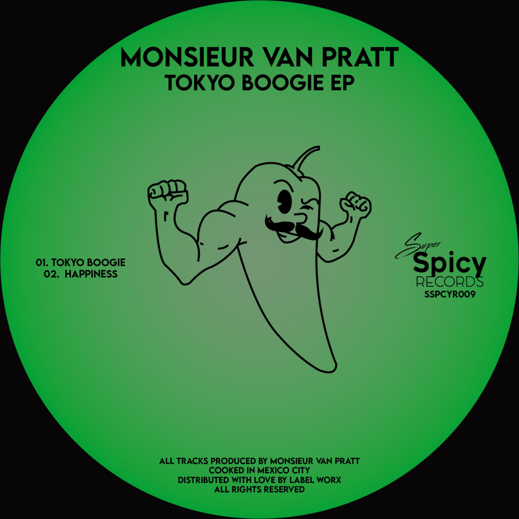 PREMIERE: Monsieur Van Pratt – Tokyo Boogie EP [Super Spicy]