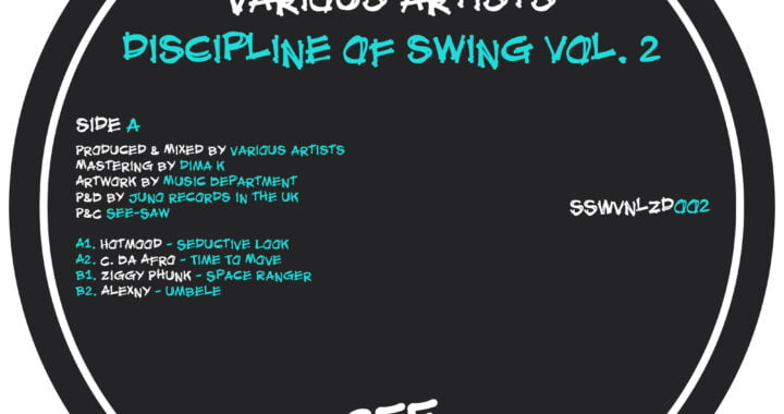 RELEASE OF THE WEEK: Various Artists – Disciplin Of Swing Vol. 2 [See-Saw]