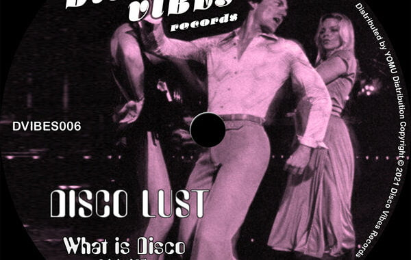 PREMIERE: Disco Lust – What Is Disco [Disco Vibes Records]